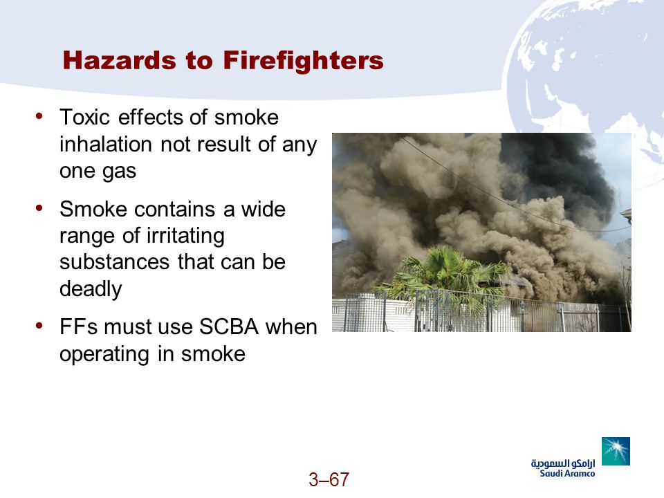 Hazards to Firefighters