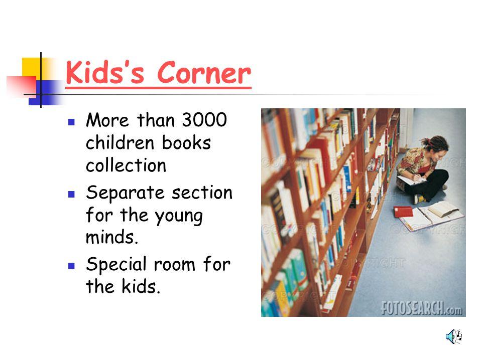 Kids's Corner More than 3000 children books collection