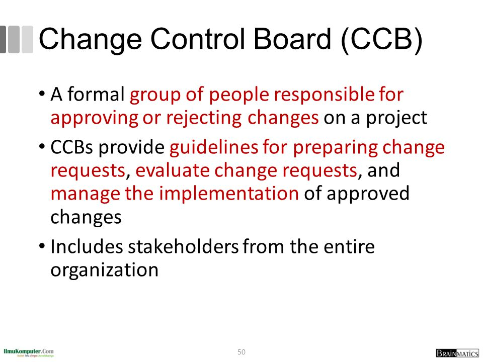 Change Control Board (CCB)