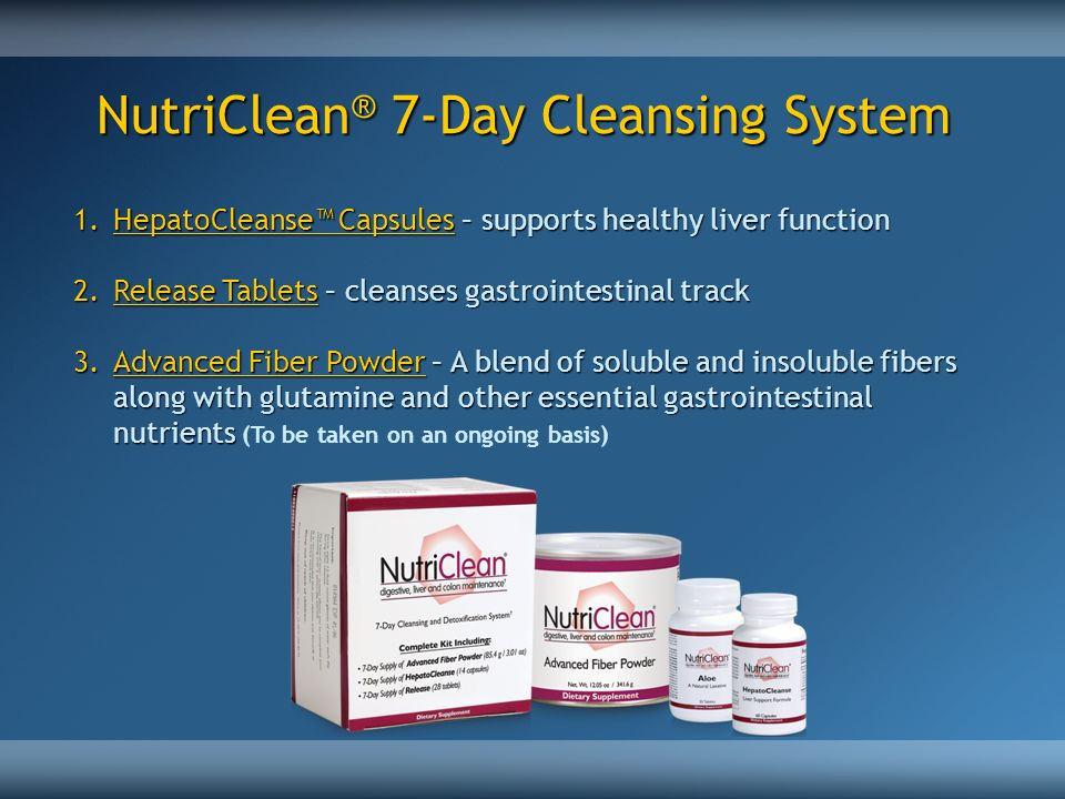 NutriClean® 7-Day Cleansing System
