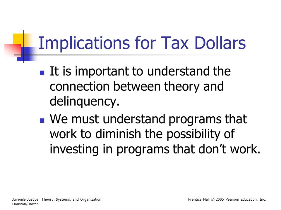 Implications for Tax Dollars