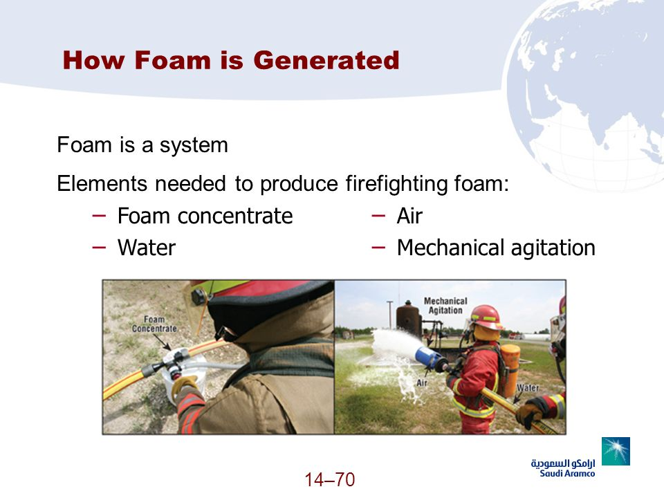 How Foam is Generated Foam is a system