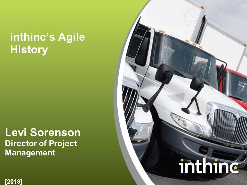 inthinc's Agile History