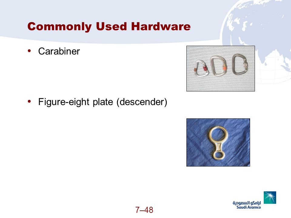 Commonly Used Hardware