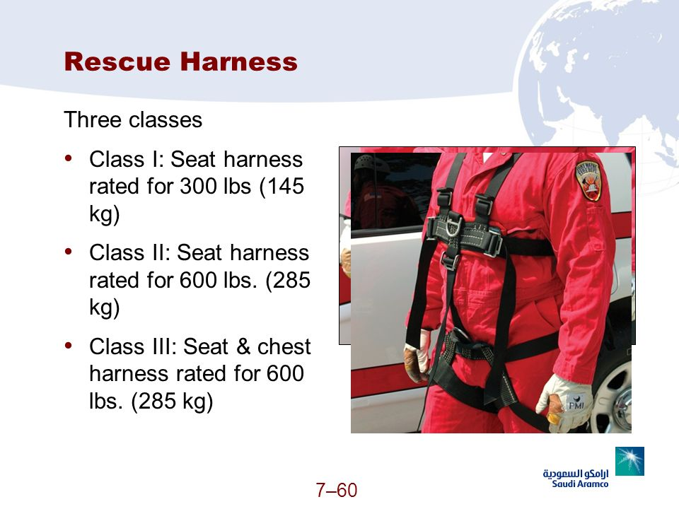 Rescue Harness Three classes