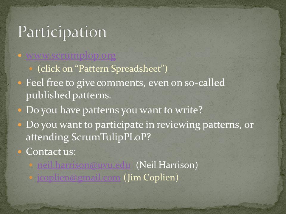 Participation www.scrumplop.org