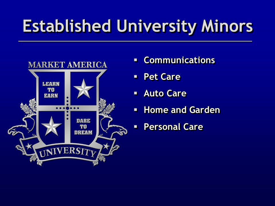 Established University Minors