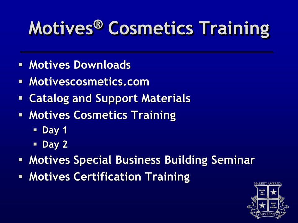 Motives® Cosmetics Training