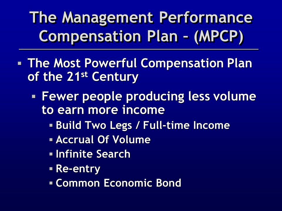 The Management Performance Compensation Plan – (MPCP)