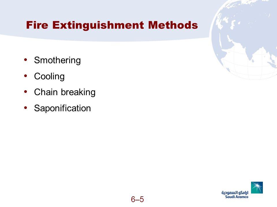 Fire Extinguishment Methods