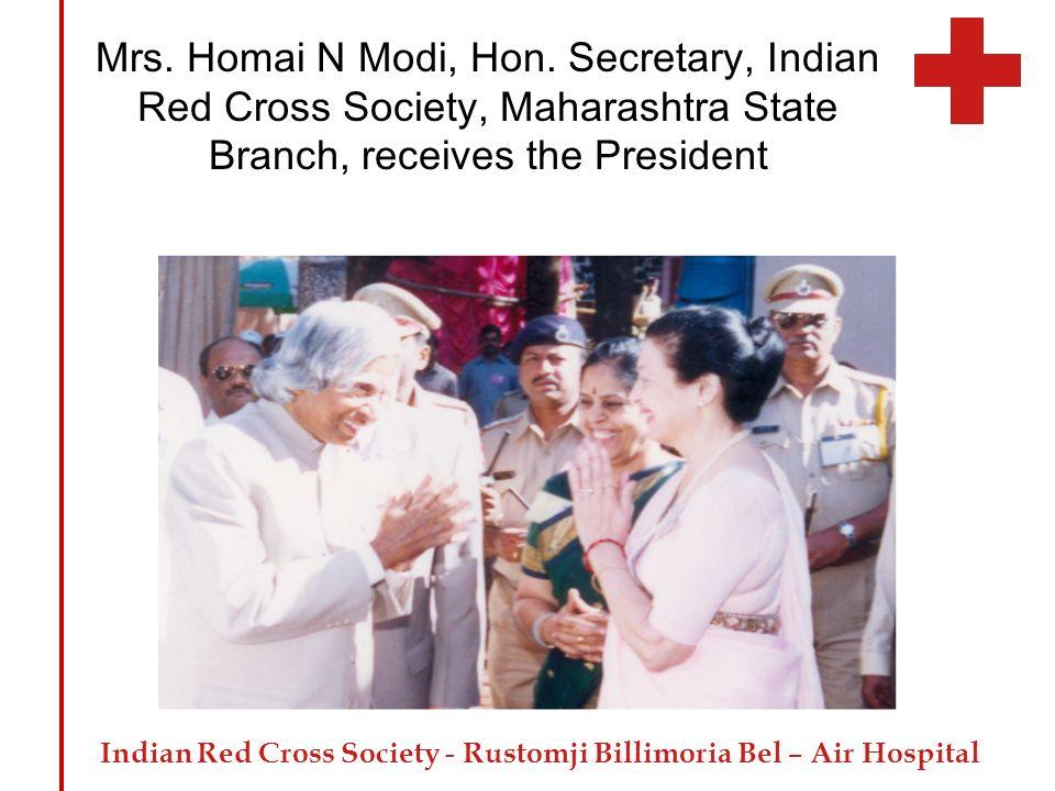 Mrs. Homai N Modi, Hon.