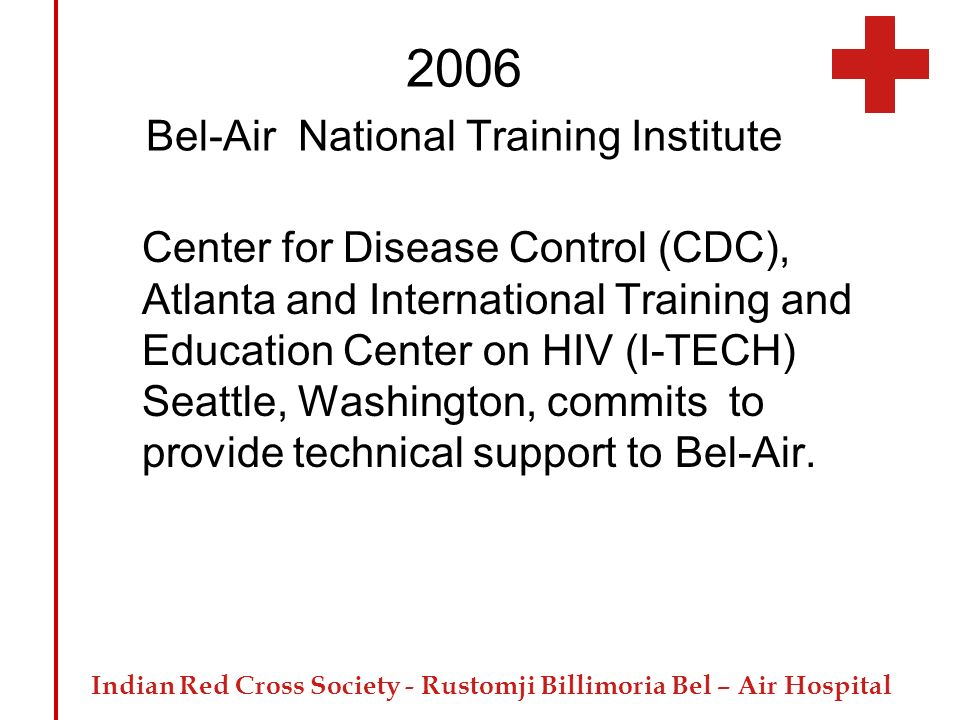 2006 Bel-Air National Training Institute