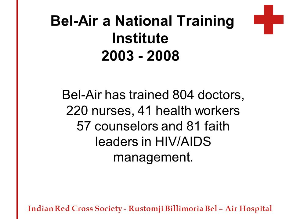 Bel-Air a National Training Institute 2003 - 2008