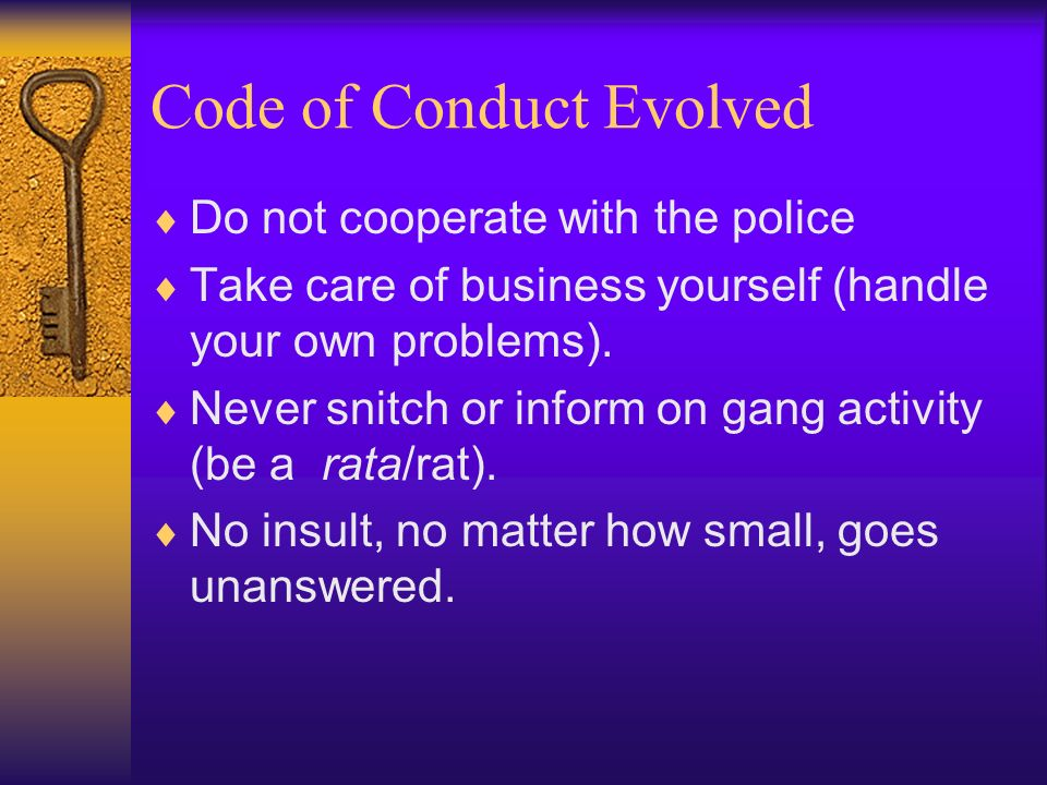 Code of Conduct Evolved