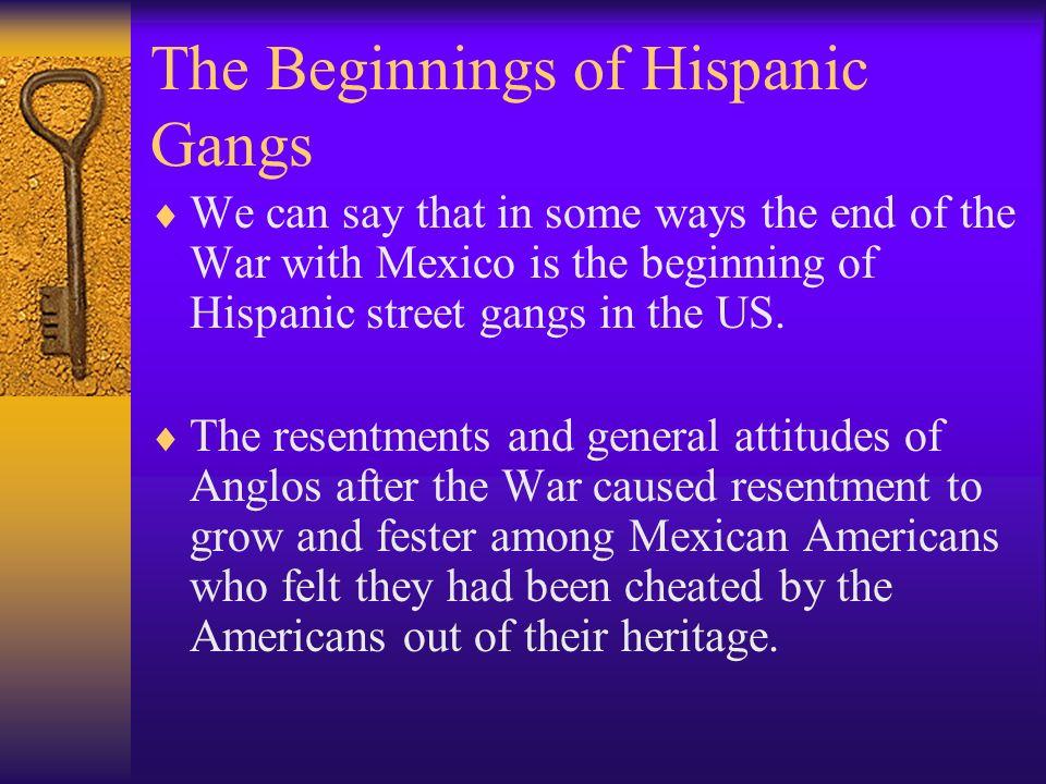 The Beginnings of Hispanic Gangs