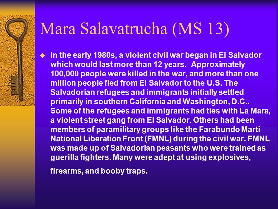 Mara Salavatrucha (MS 13)