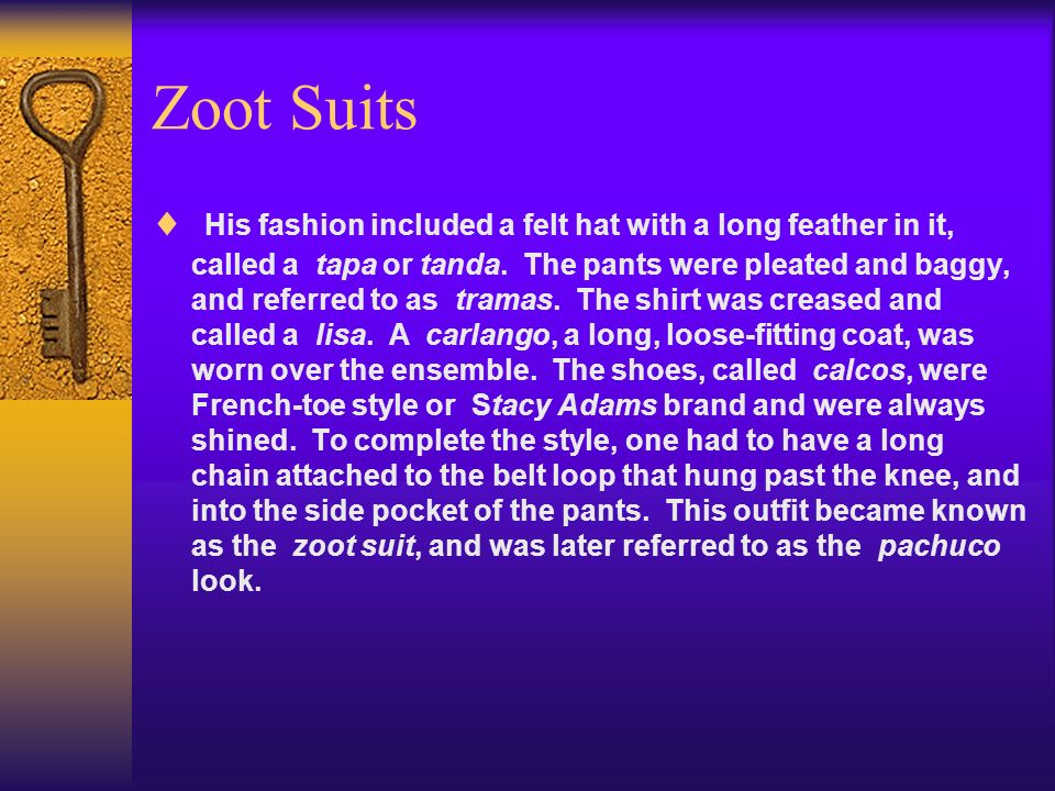 Zoot Suits