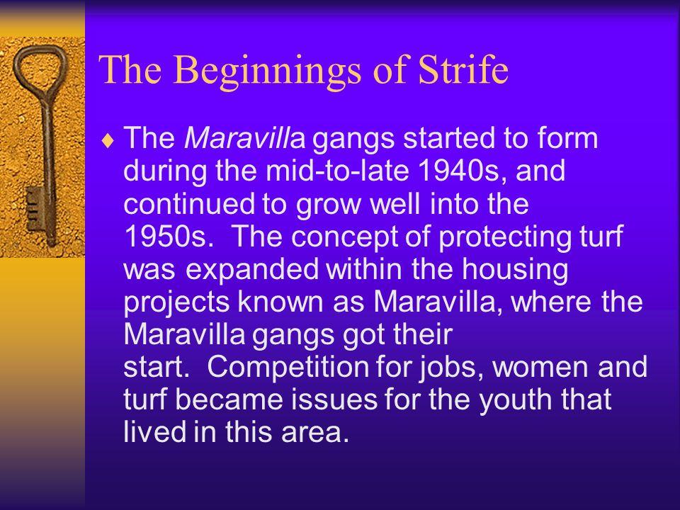 The Beginnings of Strife