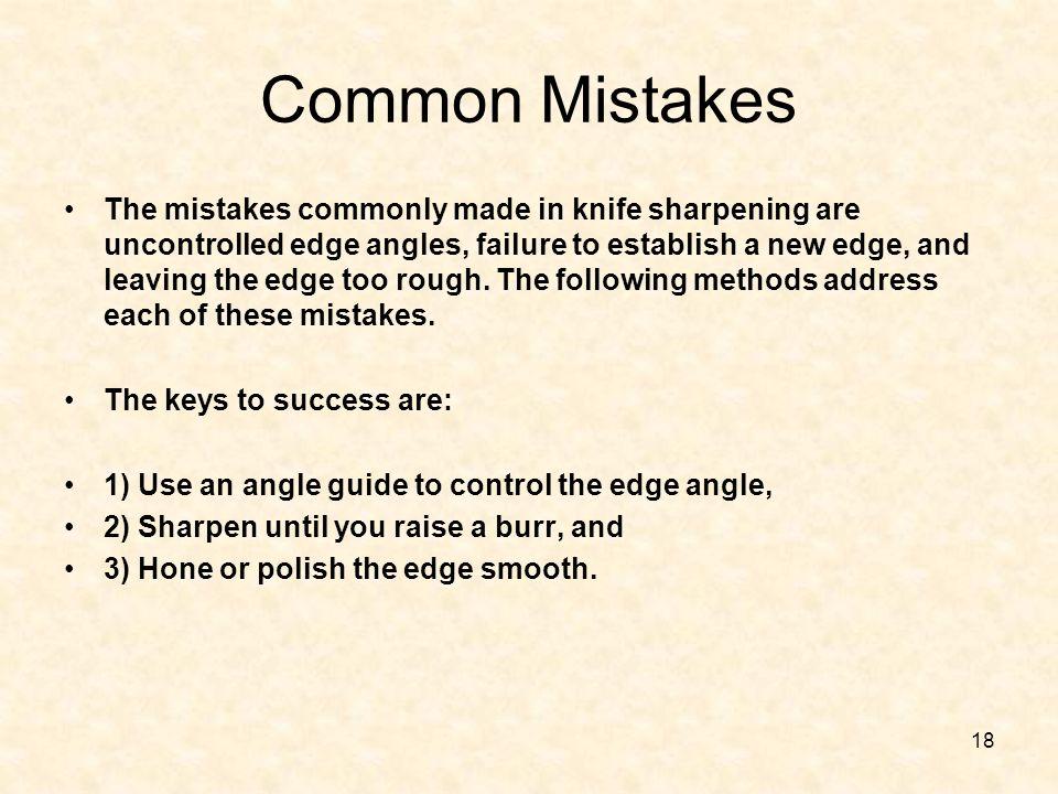 Common Mistakes