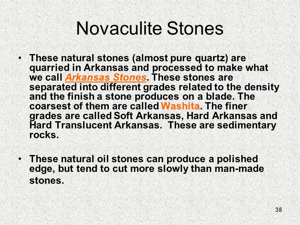 Novaculite Stones