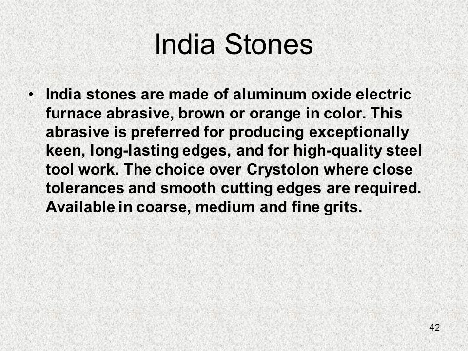 India Stones