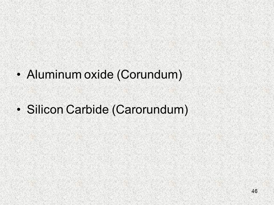 Aluminum oxide (Corundum)