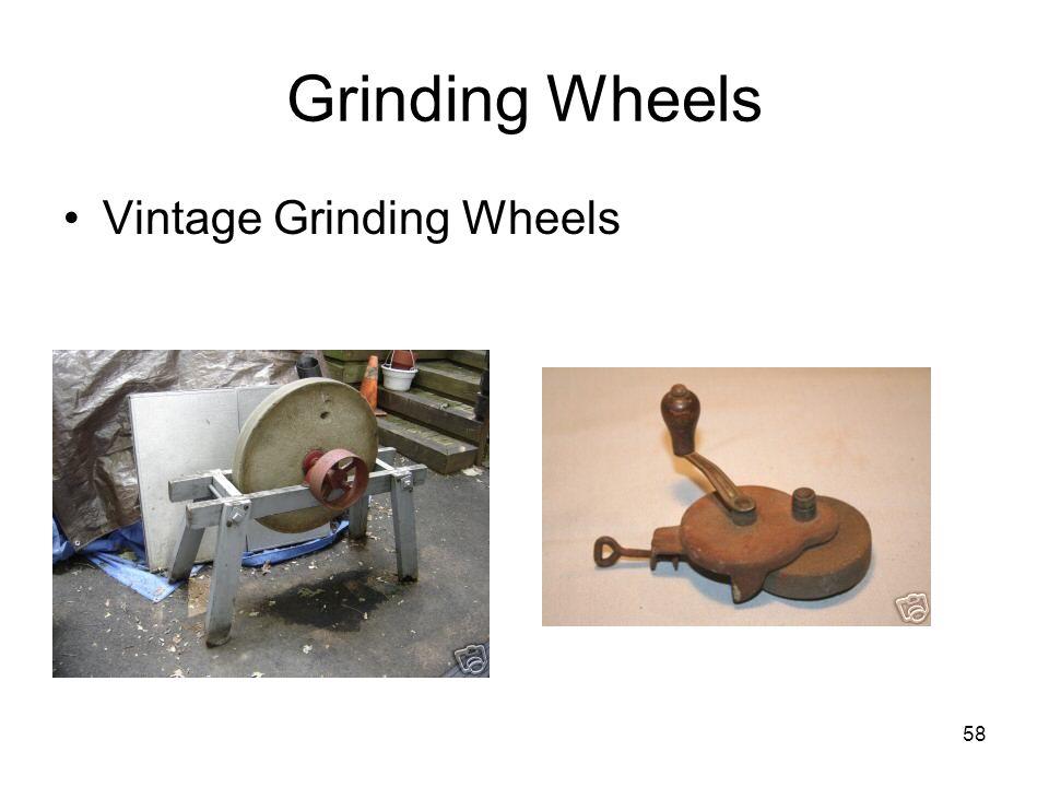 Grinding Wheels Vintage Grinding Wheels From: Ebay.com