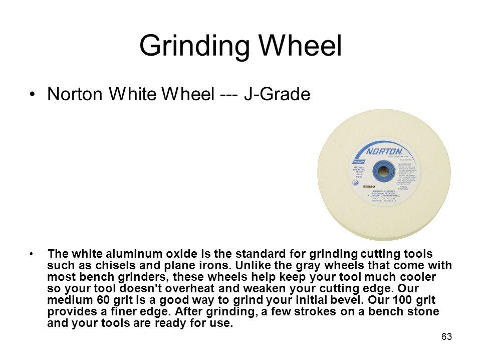 Grinding Wheel Norton White Wheel --- J-Grade
