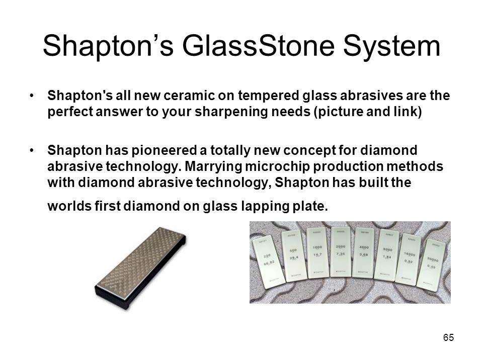 Shapton's GlassStone System