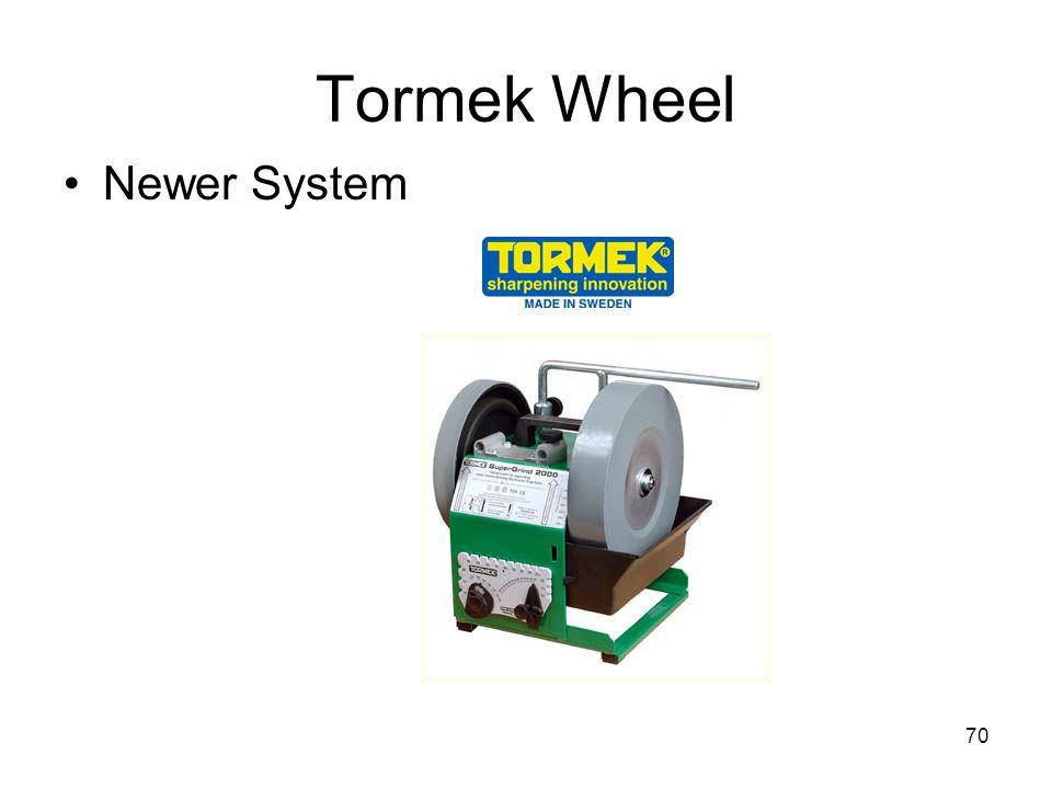 Tormek Wheel Newer System