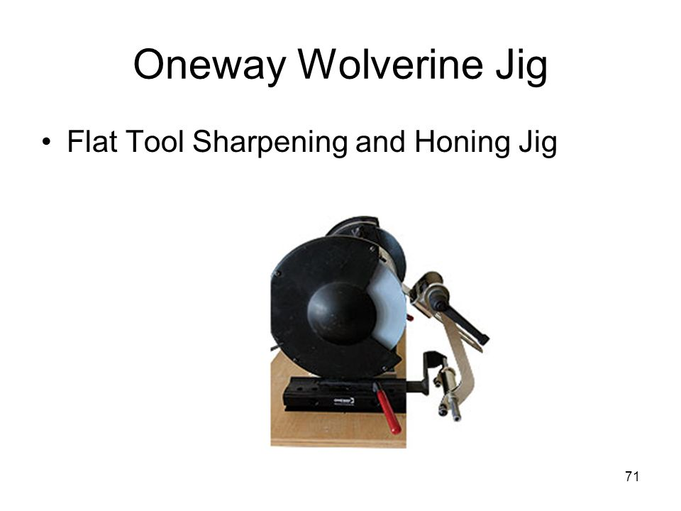 Oneway Wolverine Jig Flat Tool Sharpening and Honing Jig