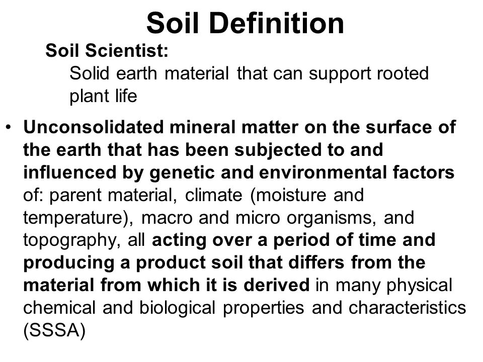 1 soil as a natural resource ppt video online download for Mineral soil definition