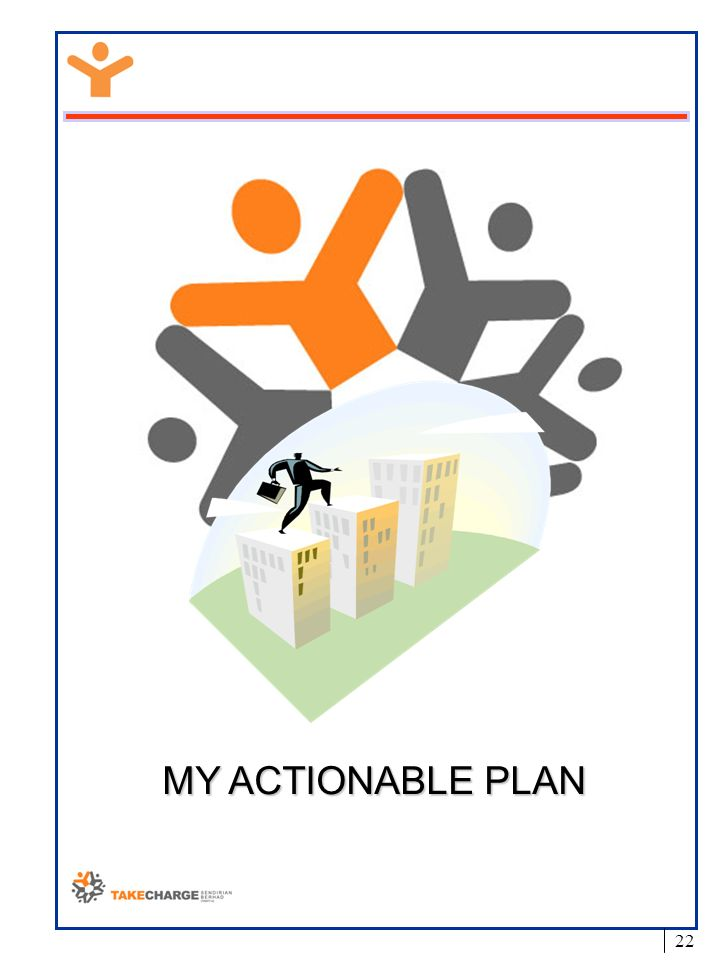 MY ACTIONABLE PLAN