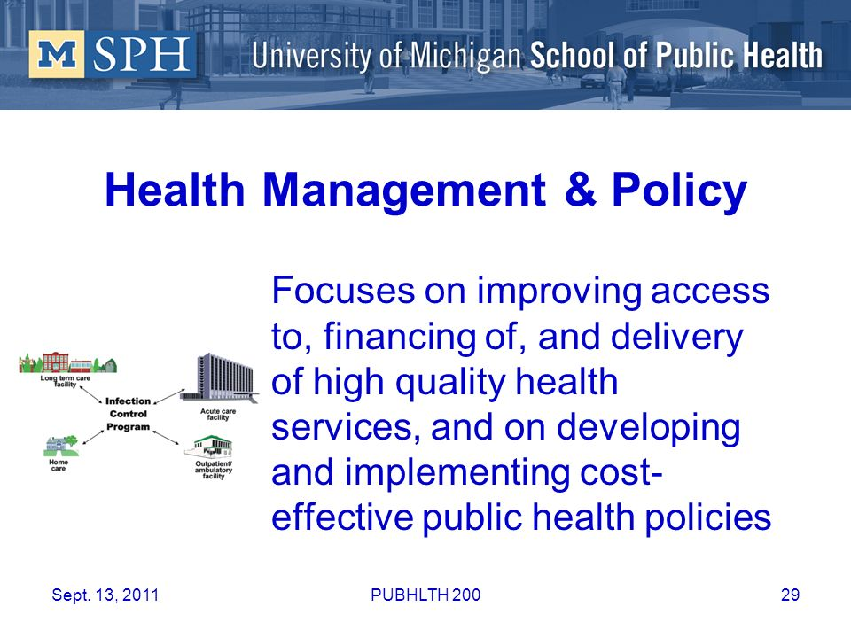 Health Management & Policy