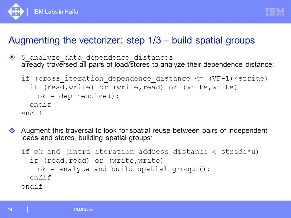 Augmenting the vectorizer: step 1/3 – build spatial groups