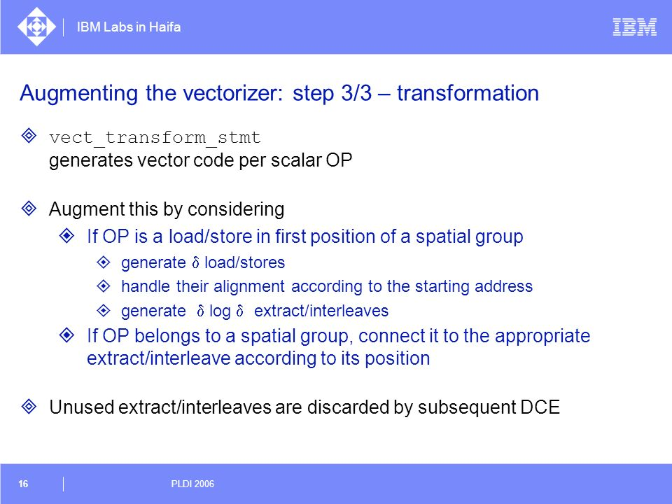 Augmenting the vectorizer: step 3/3 – transformation