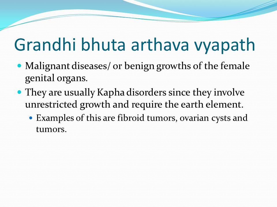 Grandhi bhuta arthava vyapath