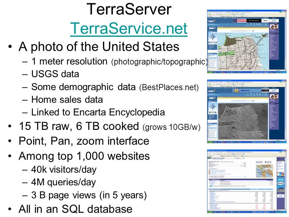 TerraServer TerraService.net