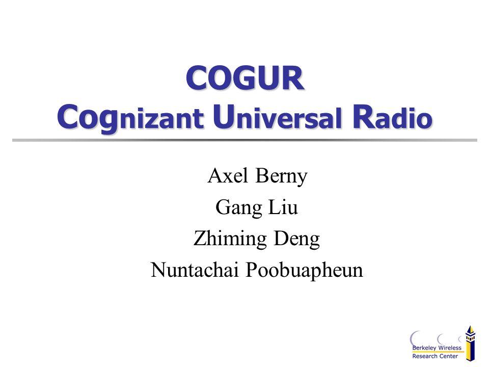 COGUR Cognizant Universal Radio