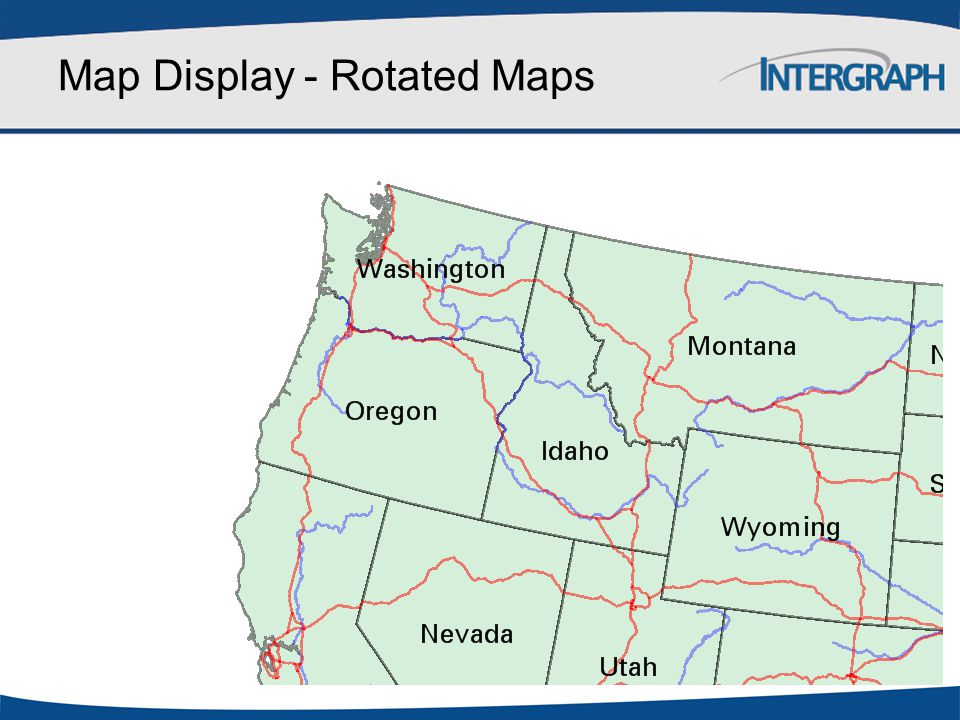 Map Display - Rotated Maps
