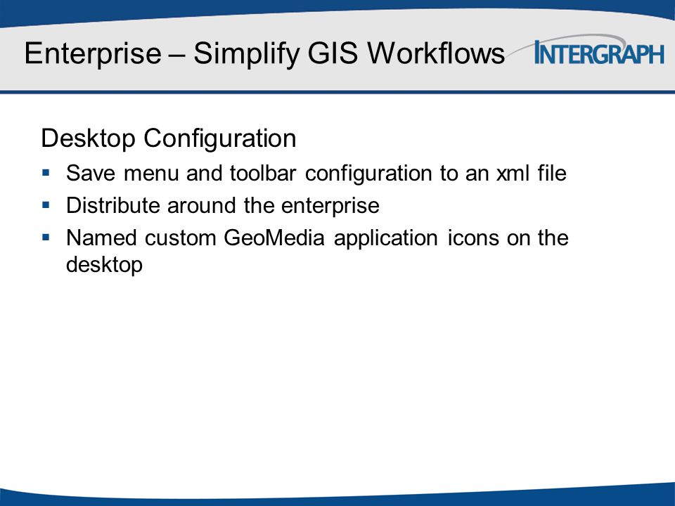 Enterprise – Simplify GIS Workflows