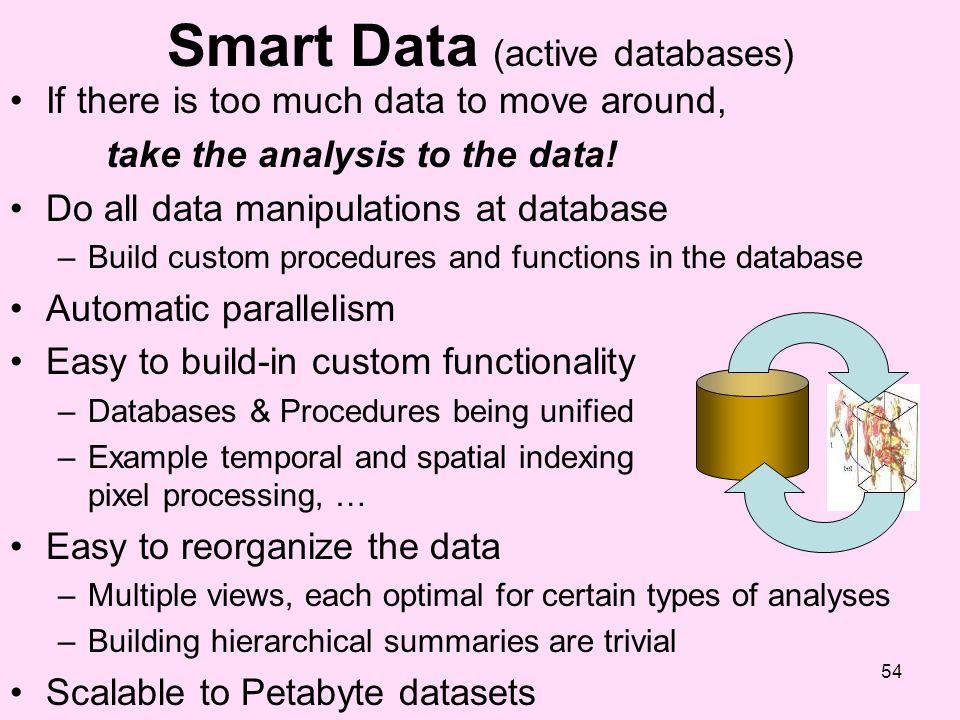 Smart Data (active databases)