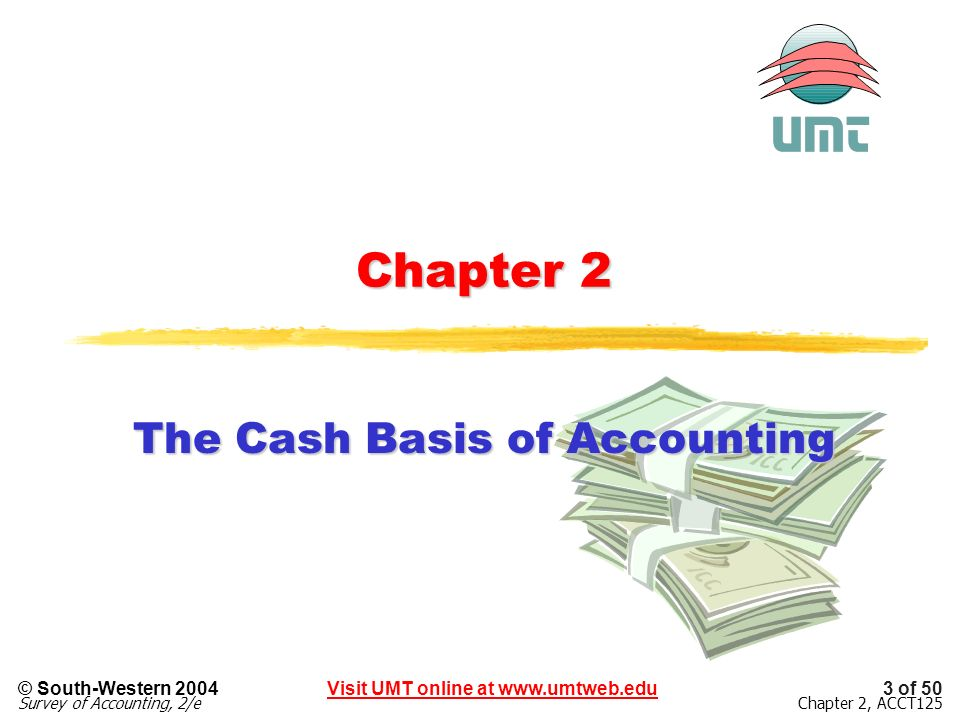 The Cash Basis of Accounting