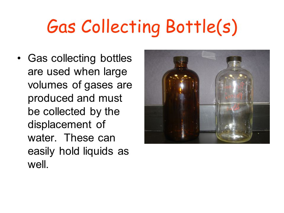 Gas Collecting Bottle(s)