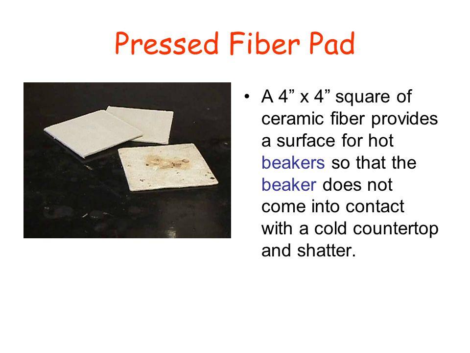Pressed Fiber Pad