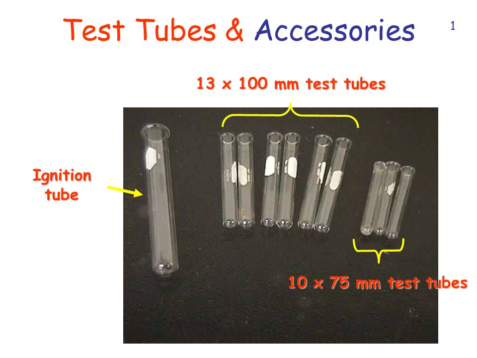 Test Tubes & Accessories