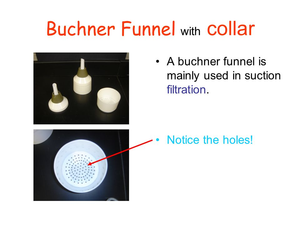 Buchner Funnel with collar