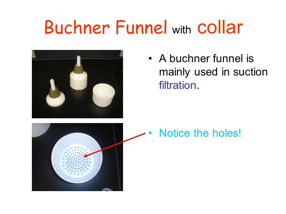 Buchner Funnel with collar