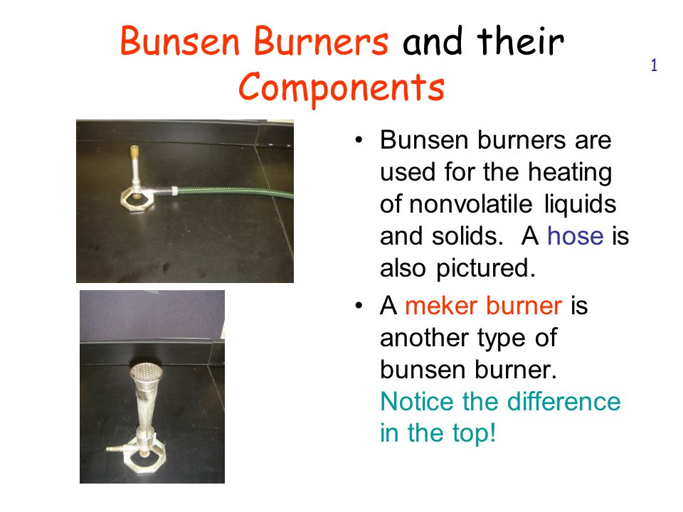 Bunsen Burners and their Components