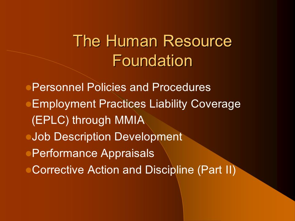 The Human Resource Foundation